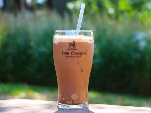 glass of frozen hot chocolate View Product Image