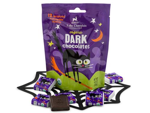 Organic Dark Chocolate Halloween Squares View Product Image