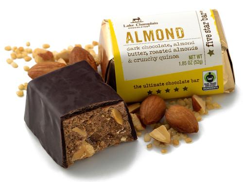 Dark Chocolate Almond Five Star Bar  View Product Image