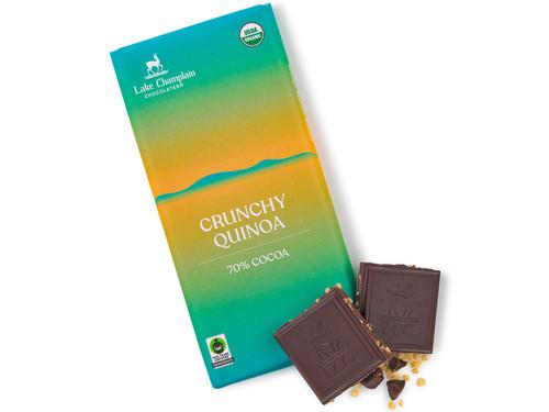 Extra dark crunchy quinoa bar View Product Image