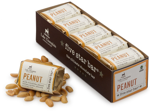 Milk chocolate peanut five star bar 10 pack View Product Image