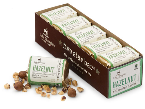 Hazelnut Five Star Bar 10 pack View Product Image
