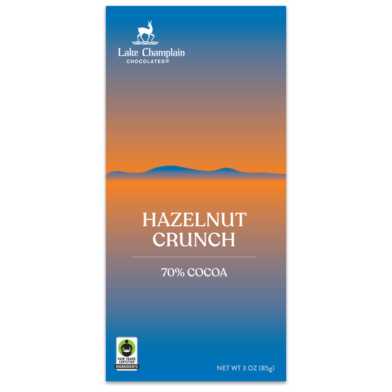 Hazelnut Crunch Restorative Moments chocolate bar