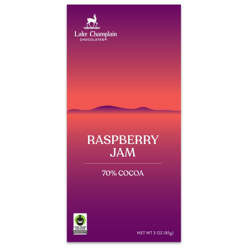 Raspberry Jam Restorative Moments chocolate bar