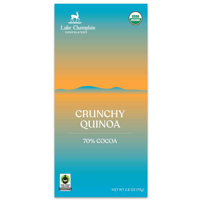 Crunchy Quinoa Restorative Moments chocolate bar