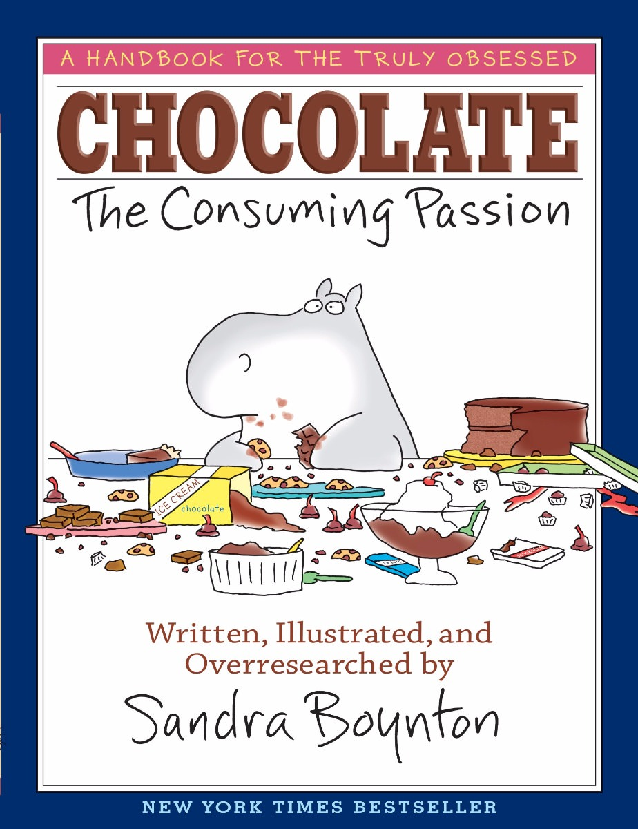 Chocolate the Consuming Passion book by Sandra Boyton