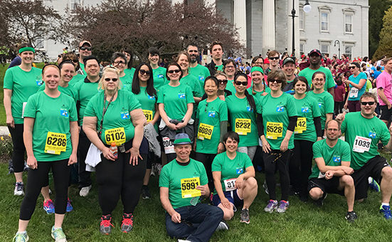 LCC employees at the Vermont Corporate Cup