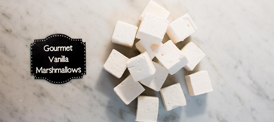 pile of gourmet marshmallows