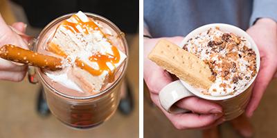 tasty hot chocolate bar drink creations