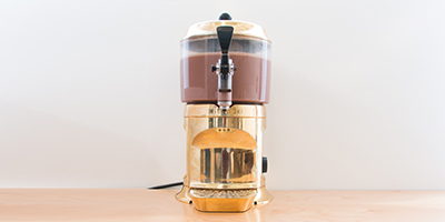 gourmet hot chocolate dispenser