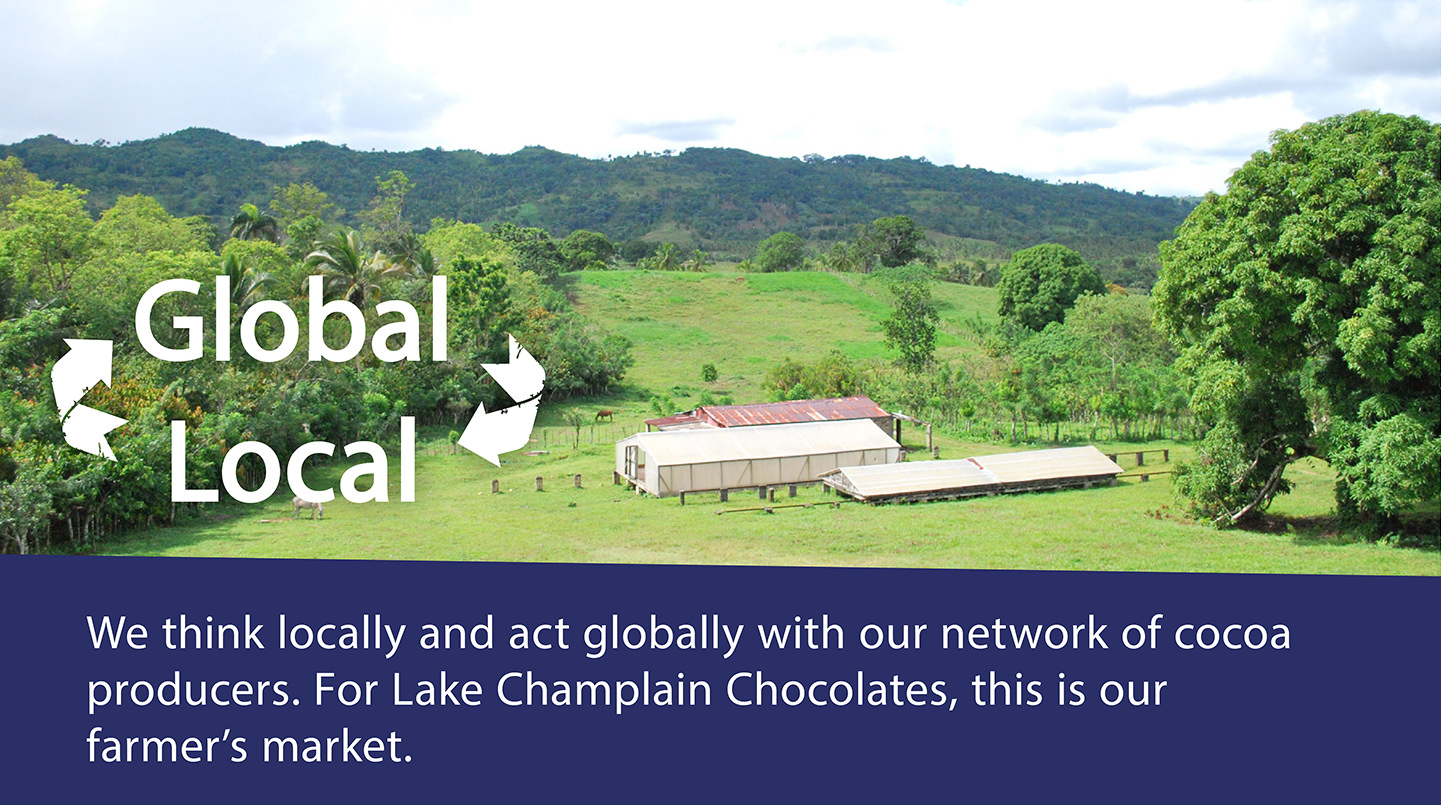 global to local journey of cocoa