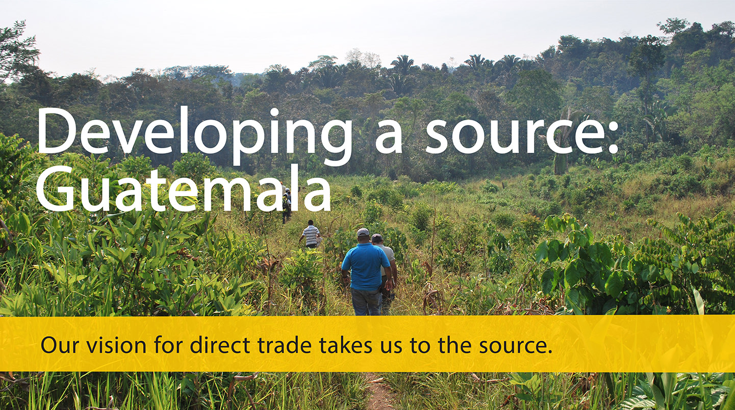 direct trade with Guatemala cocoa farmers