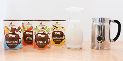 everything you need to make your own hot chocolate