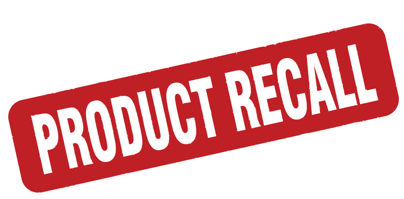 product recall graphic