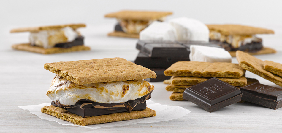 gourmet chocolate s'mores