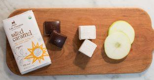 fixings for caramel apple s'more