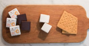 spicy chocolate s'more