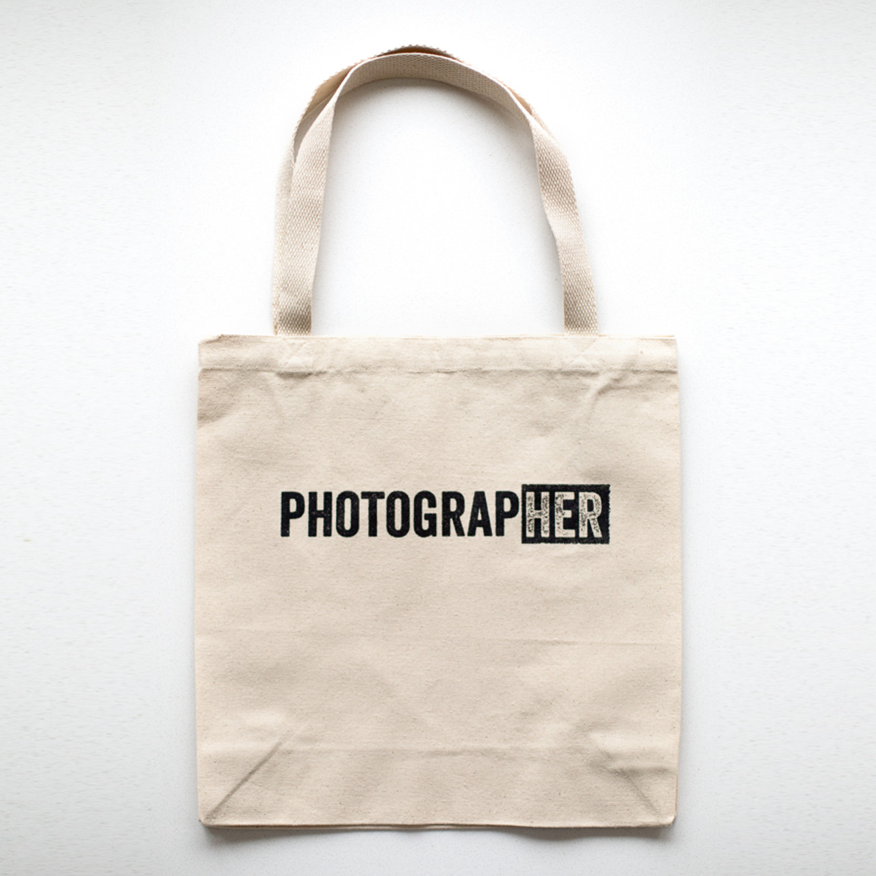 166224c7216 PhotograpHER Canvas Tote Bag - Click   Co Store