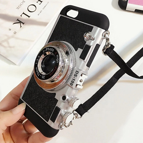 """Emily In Paris"" Crossbody Style Camera iPhone 11/12 Case"