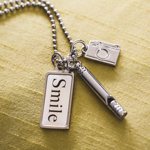 Photographer's Charm Necklace