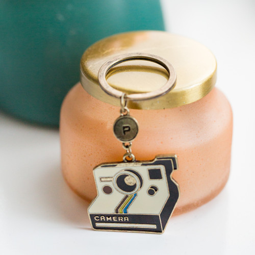 Instant Camera Keychain