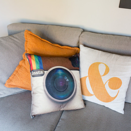 Insta Pillow Cover