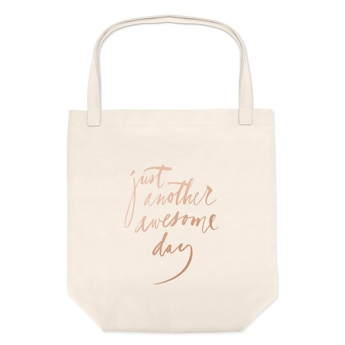Just Another Awesome Day Canvas Tote Bag
