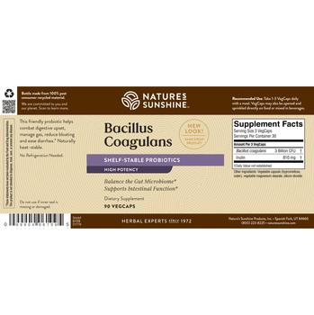Bacillus Coagulans  (90 Caps)