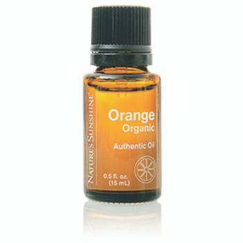 Orange Authentic Essential Oil, Organic (15 ml)