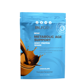 IN.FORM Metabolic Age Support Whey Protein Shake - Chocolate (15 days)