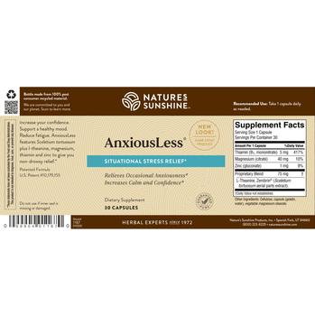 AnxiousLess (90 Caps)