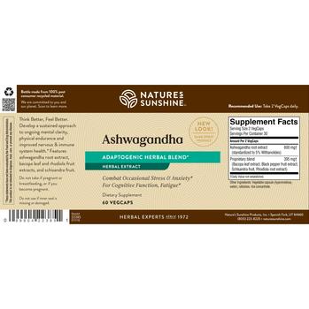 Ashwagandha (60 VegTabs)