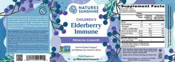 Children's Elderberry Immune (60 Veg. Gummies)