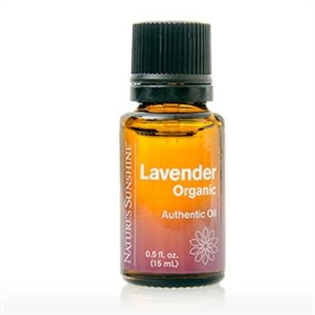Lavender Authentic Essential Oil, Organic (15ml)