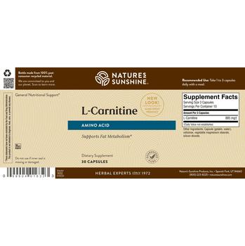 L-CARNITINE (30 Caps) [KO]