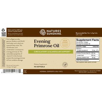 EVENING PRIMROSE OIL SOFTGEL CAPSULES (90 Caps)
