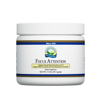 FOCUS ATTENTION POWDER (3.3 OZ)