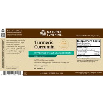 TURMERIC CURCUMIN (60 Caps)