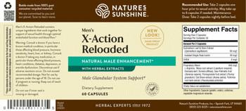 X-ACTION RELOADED (Men) (60 Caps)