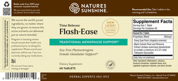 Flash Ease Time Release (60 Tabs) [KO]