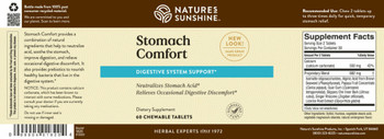 STOMACH COMFORT(60 chewable tab)
