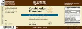 COMBINATION POTASSIUM (180 caps) (Ko)
