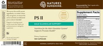 PS II ® (Healthy Prostate And Male Glandular) (100 Caps) [KO]