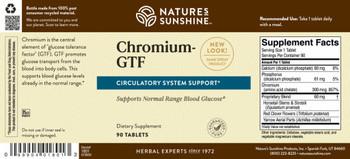 CHROMIUM GTF/300MCG (90 tabs)