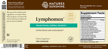 Lymphomax® (100 Caps) [KO] On B/O From NSP until: 5/28/21