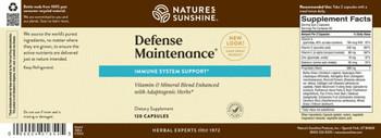 DEFENSE MAINTENANCE (120)