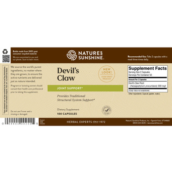 DEVIL'S CLAW (100)