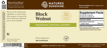 BLACK WALNUT (100 Caps) [KO]