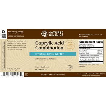 CAPRYLIC ACID COMBO (90 caps)