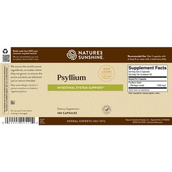 Psyllium Seeds (100 Caps) [KO]
